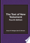 The Text of New Testament