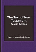 Pdf The Text of New Testament Telecharger