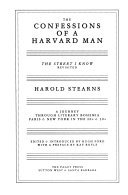 The Confessions of a Harvard Man