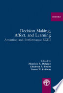Decision Making Affect And Learning Book PDF