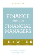 Finance For Non-Financial Managers In A Week [Pdf/ePub] eBook