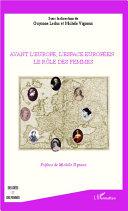 Pdf Avant l'Europe, l'espace Européen : le rôle des femmes Telecharger