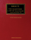 Brice on Maritime Law of Salvage