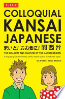 Colloquial Kansai Japanese