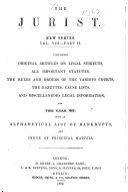The Jurist .. ebook