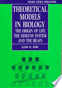 Theoretical Models In Biology Book PDF