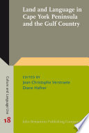 Land And Language In Cape York Peninsula And The Gulf Country