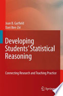 Developing Students Statistical Reasoning Book PDF
