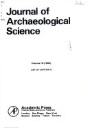 JOURNAL OF ARCHAEOLOGICAL SCIENCE  VOL  19  NO  1 6  1992