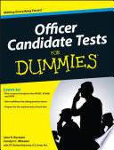 Officer Candidate Tests For Dummies Book PDF