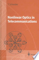 Nonlinear Optics in Telecommunications Book
