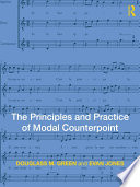 The Principles and Practice of Modal Counterpoint