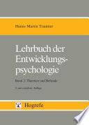 Lehrbuch der Entwicklungspsychologie