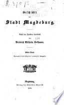 Geschichte der stadt Magdeburg