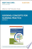 Concepts for Nursing Practice   E Book