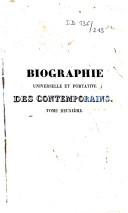 Biographie universelle et portative des contemporains
