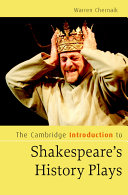 The Cambridge Introduction to Shakespeare's History Plays