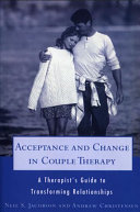 Acceptance and Change in Couple Therapy