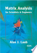 Matrix Analysis For Scientists And Engineers Book PDF