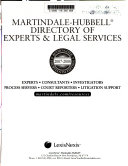 Martindale Hubbell Directory Of Experts Legal Services