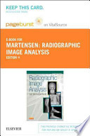 Radiographic Image Analysis Pageburst on Vitalsource Retail Access Code