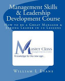 Management Skills and Leadership Development Course