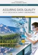 Assuring Data Quality at U S  Geological Survey Laboratories Book