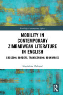 Pdf Mobility in Contemporary Zimbabwean Literature in English Telecharger