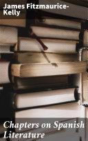 Chapters on Spanish Literature Pdf/ePub eBook