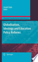 Globalisation Ideology And Education Policy Reforms Book PDF