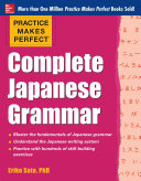 Pdf Practice Makes Perfect Complete Japanese Grammar (EBOOK) Telecharger