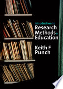 Introduction to Research Methods in Education Book