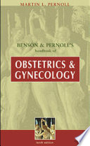 Benson   Pernoll s Handbook of Obstetrics   Gynecology