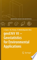 GeoENV VI     Geostatistics For Environmental Applications