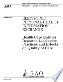 Electronic Personal Health Information Exchange