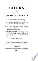 Cours de droit français