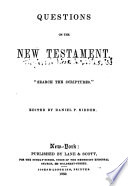 Questions On The New Testament