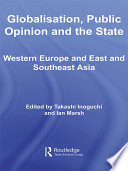 Globalisation Public Opinion And The State Book