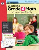 Mastering Grade 4 Math: Concepts and Skills CDN Version