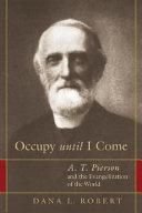 Occupy Until I Come