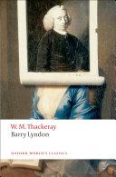 Barry Lyndon Pdf/ePub eBook