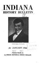Indiana History Bulletin