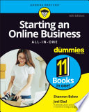 """Starting an Online Business All-in-One For Dummies"" by Shannon Belew, Joel Elad"
