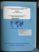 A Comparative Study of the Cost Competitiveness of the World s Major Airlines Book