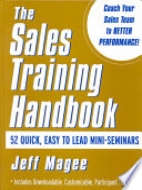 Sales Training Handbook
