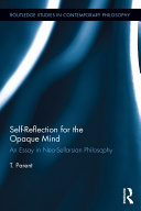 Self-Reflection for the Opaque Mind