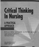 Cover of Critical Thinking in Nursing