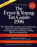 The Ernst   Young Tax Guide 1996 Book