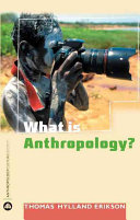 Cover of What is anthropology?