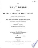 The holy bible containing the old and the new testaments Pdf/ePub eBook